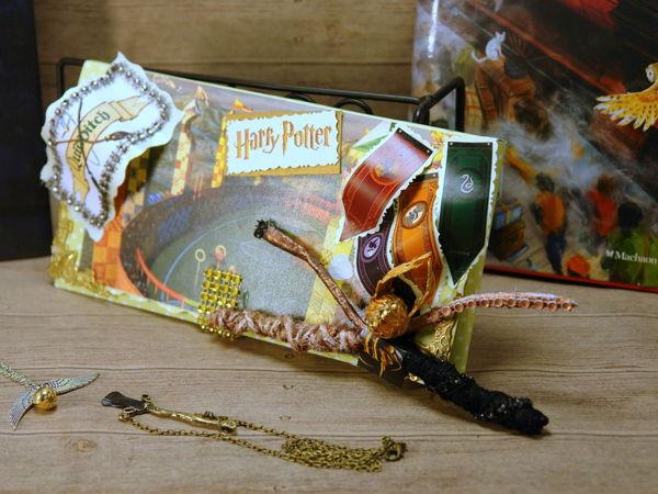 Подарочный конверт с объёмными деталями | Ярмарка Мастеров - ручная работа, handmade