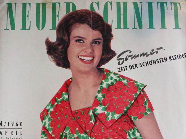 Neuer Schnitt — старый немецкий журнал мод 4/1960 | Ярмарка Мастеров - ручная работа, handmade