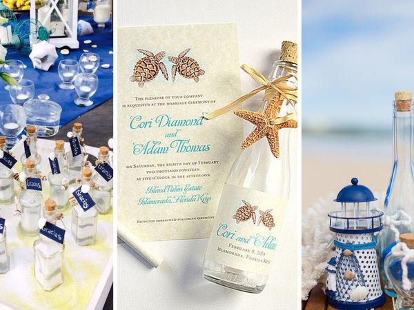 Свадьба в морском стиле   Ярмарка Мастеров - ручная работа, handmade