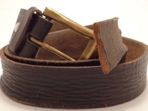 Кожаный ремень под микроскопом | Ярмарка Мастеров - ручная работа, handmade