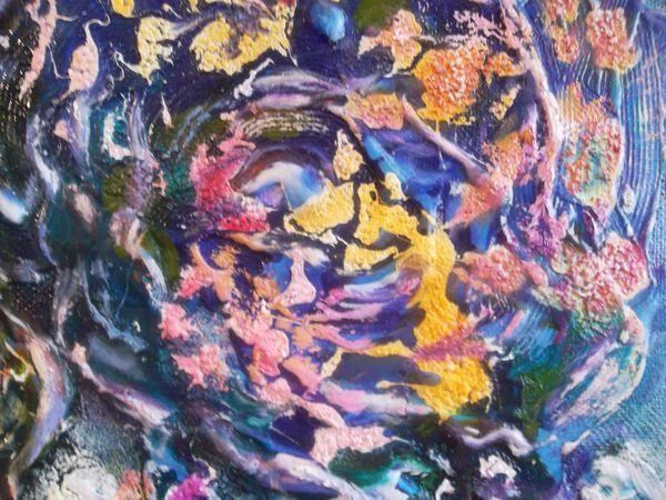 Видео мастер-класс: пишем маслом абстракцию «Древо жизни» | Ярмарка Мастеров - ручная работа, handmade