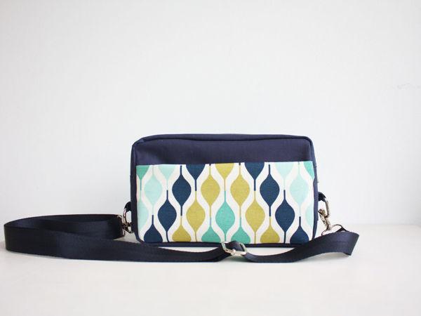 Шьем прямоугольную сумку на ремне | Ярмарка Мастеров - ручная работа, handmade