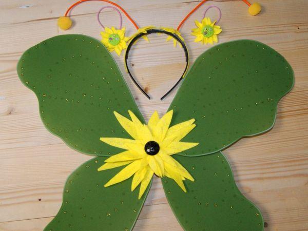 Как сделать крылья бабочки из капрона   Ярмарка Мастеров - ручная работа, handmade