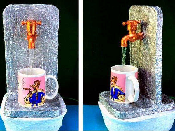 Мастер-класс: настольный фонтан | Ярмарка Мастеров - ручная работа, handmade