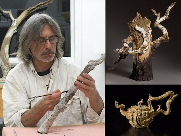 Деревянная керамика Эрика Серрителлы | Ярмарка Мастеров - ручная работа, handmade