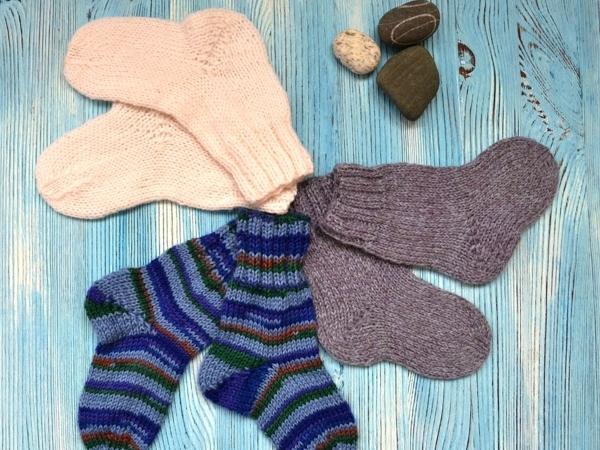 Новинки! Коллекция детских носочков из шерсти! Тепло малышам — спокойно маме! | Ярмарка Мастеров - ручная работа, handmade