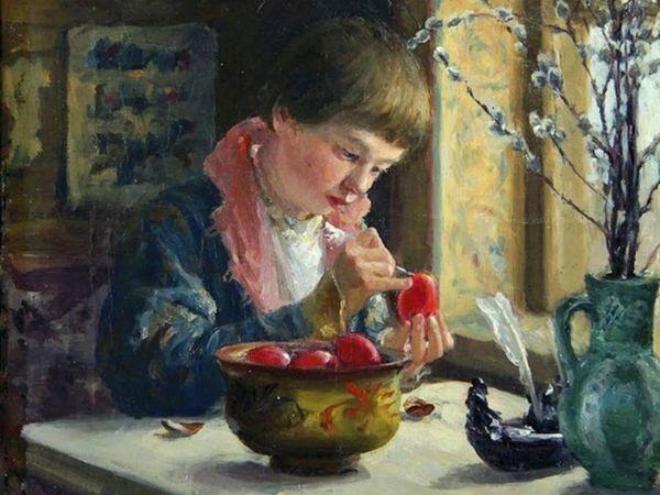 Пасхальные сюжеты в творчестве художников | Ярмарка Мастеров - ручная работа, handmade