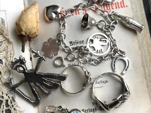 Анонс. Серебряные винтажные украшения   Ярмарка Мастеров - ручная работа, handmade