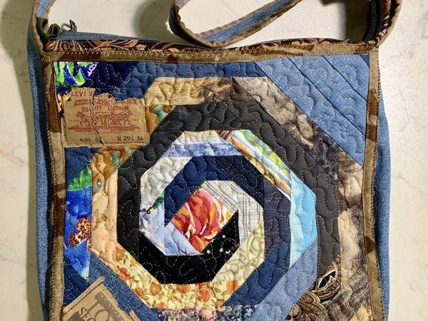 Шьем из старых джинсов. Сезон 2, серия 4. Лоскутная сумка. Суперфинал | Ярмарка Мастеров - ручная работа, handmade