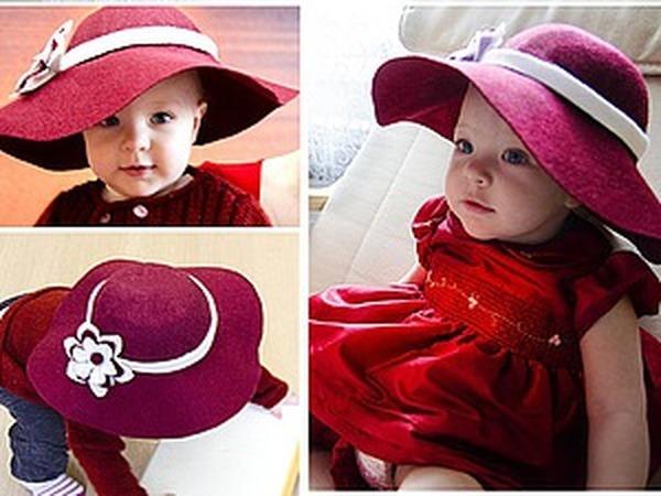 Мастер-класс: шляпка слауч из фетра | Ярмарка Мастеров - ручная работа, handmade