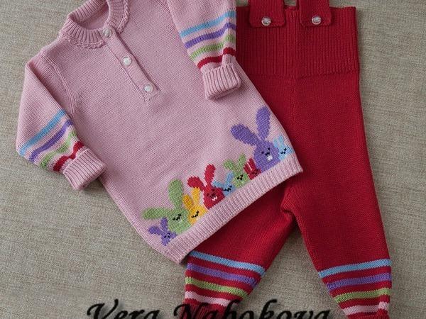 Цвет одежды для малышей. | Ярмарка Мастеров - ручная работа, handmade