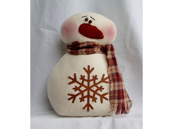 Текстильные милаши-снеговики: вдохновляющая коллекция | Ярмарка Мастеров - ручная работа, handmade