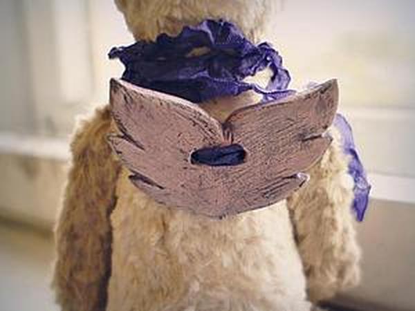 Мастерим крылья для Ангела (мишке Тедди или кукле)   Ярмарка Мастеров - ручная работа, handmade