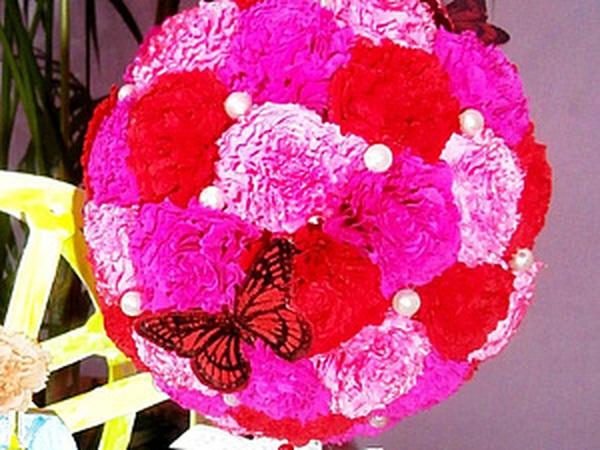 Цветочный топиарий для всех - мастер-класс | Ярмарка Мастеров - ручная работа, handmade