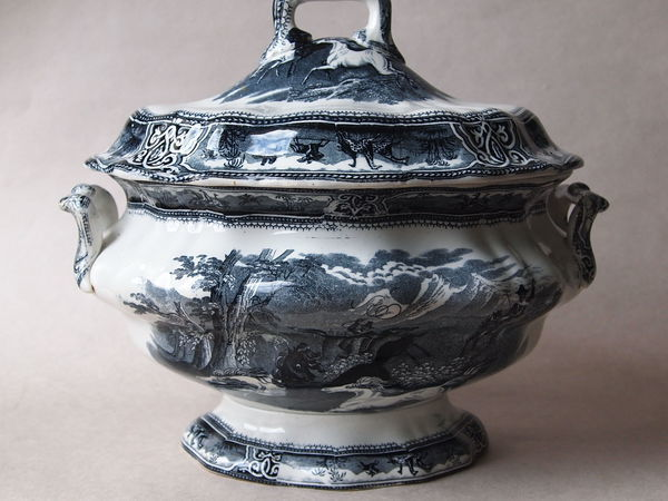 Английская супница середины XIX века, дополнительные фотографии | Ярмарка Мастеров - ручная работа, handmade