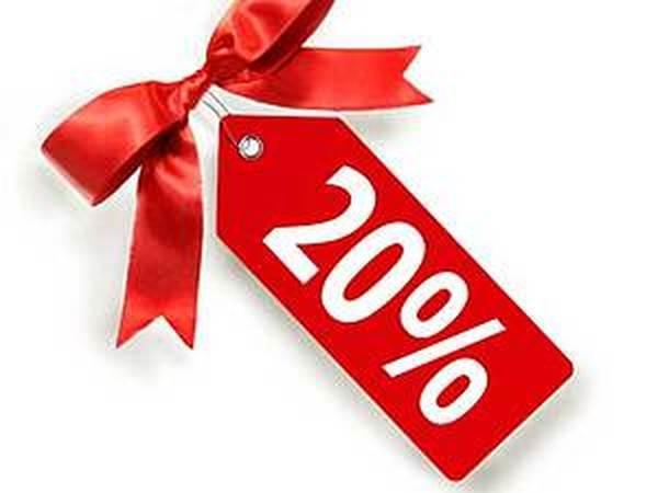 Благодарность за 100% предоплату заказа - скидка 20%   Ярмарка Мастеров - ручная работа, handmade
