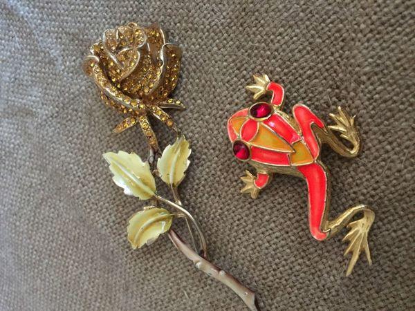 Древесная лягушка и роза Kramer   Ярмарка Мастеров - ручная работа, handmade