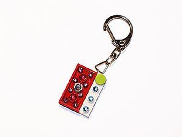 Брелок из Lego в стиле color blocking за 5 шагов | Ярмарка Мастеров - ручная работа, handmade