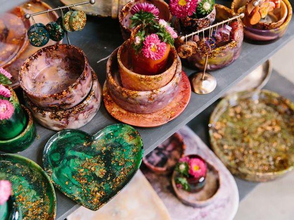 Австралийские чудеса: украшения и посуда от Hanna Woo | Ярмарка Мастеров - ручная работа, handmade