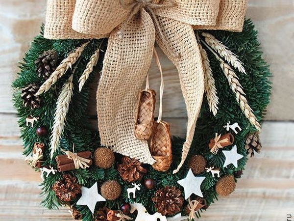 Рождественские венки!   Ярмарка Мастеров - ручная работа, handmade