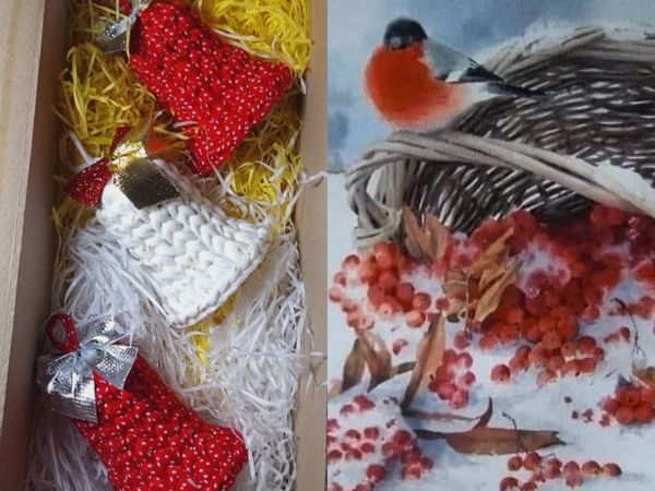 С Рождеством! | Ярмарка Мастеров - ручная работа, handmade