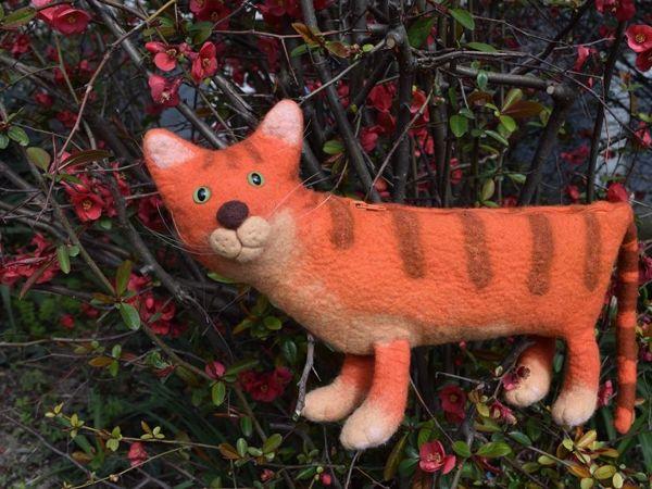 Без кота и жизнь не та! | Ярмарка Мастеров - ручная работа, handmade