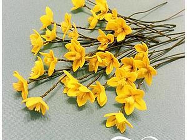 Создание полевых цветов из фоамирана: весенники   Ярмарка Мастеров - ручная работа, handmade