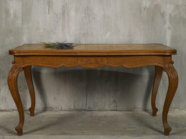 Реставрация антикварного обеденного стола | Ярмарка Мастеров - ручная работа, handmade