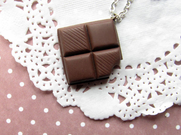 Мастер-класс по созданию «Шоколадного кулона» | Ярмарка Мастеров - ручная работа, handmade