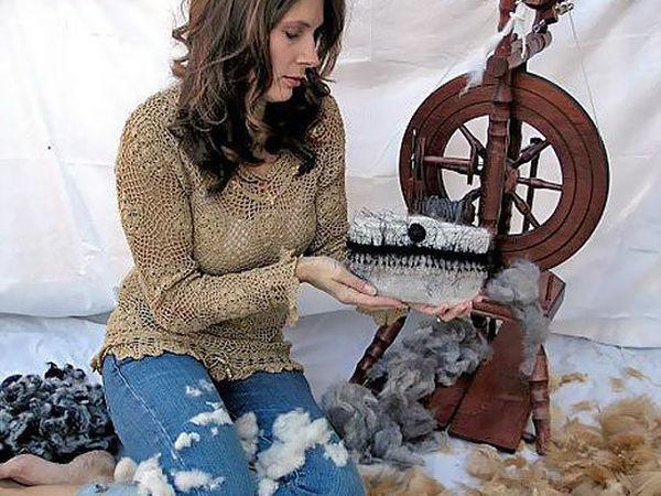 Не любите кошек? Вы просто не умеете вязать сумки из их шерсти! | Ярмарка Мастеров - ручная работа, handmade
