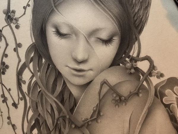 Японская художница Озабу! Рисунки, которые впечатляют!   Ярмарка Мастеров - ручная работа, handmade