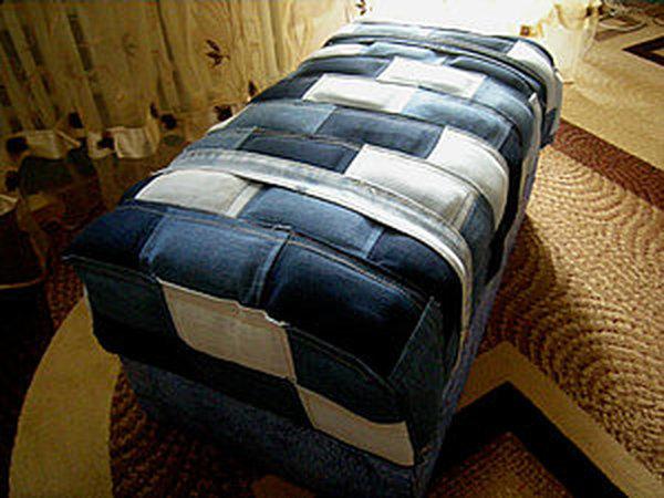 Полезная утилизация старых джинсов. | Ярмарка Мастеров - ручная работа, handmade