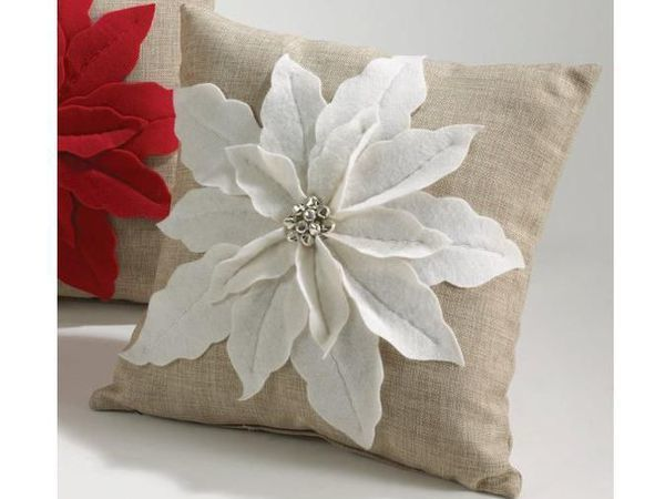Do You Want to Make a Beautiful Cushion for the Holiday? We Still Have Time! | Livemaster - handmade