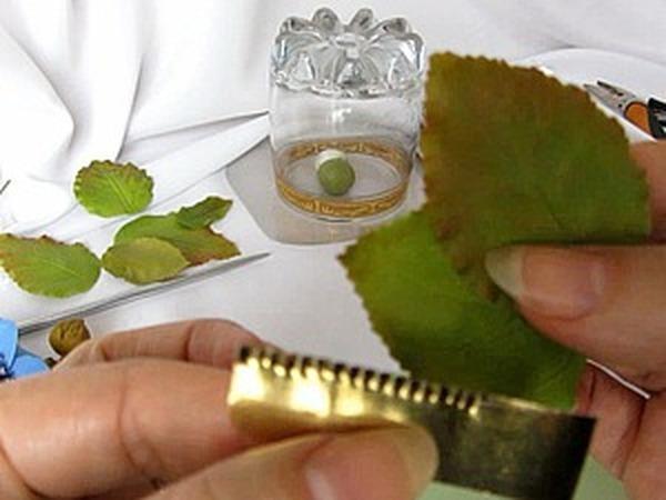 Мастер-класс: делаем каттер для листьев из подручных материалов. Листья из холодного фарфора | Ярмарка Мастеров - ручная работа, handmade