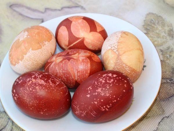 Окрашивание яиц к Пасхе натуральными красителями | Ярмарка Мастеров - ручная работа, handmade