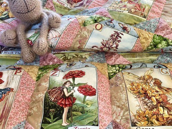 Как сшить одеяло для новорожденной принцессы? Часть 4   Ярмарка Мастеров - ручная работа, handmade