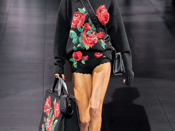 Dolce & Gabbana FW 2020 — тренд на крупную вязку | Ярмарка Мастеров - ручная работа, handmade