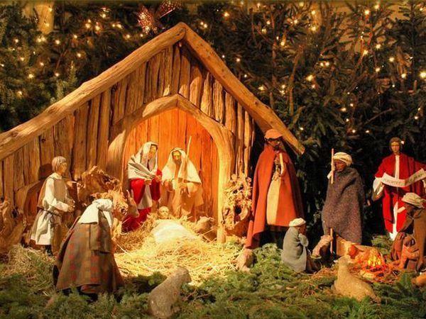 Необычные рождественские вертепы | Ярмарка Мастеров - ручная работа, handmade