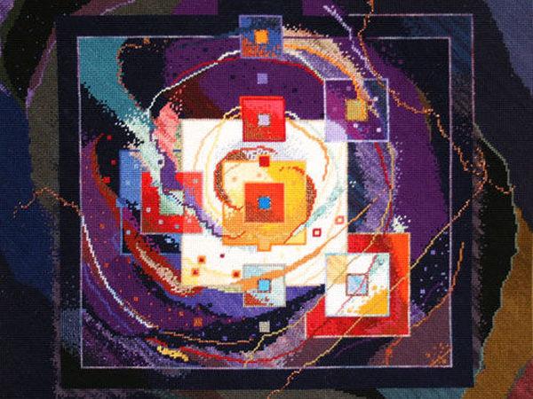 Мастер спонтанного вышивания Connie Pickering Stover и ее философия «Нет границ!» Часть 2 | Ярмарка Мастеров - ручная работа, handmade