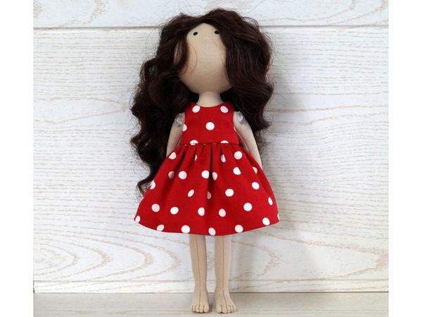 Шьём платье для куклы | Ярмарка Мастеров - ручная работа, handmade