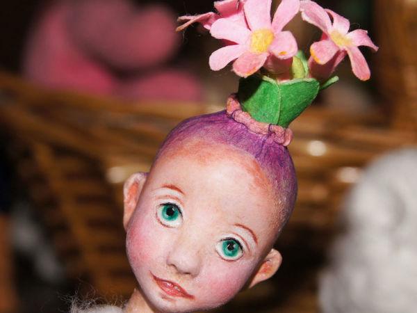 МК Ватные личики и головушки | Ярмарка Мастеров - ручная работа, handmade