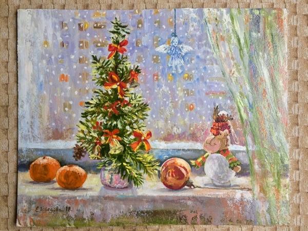 Зима и ее праздники | Ярмарка Мастеров - ручная работа, handmade