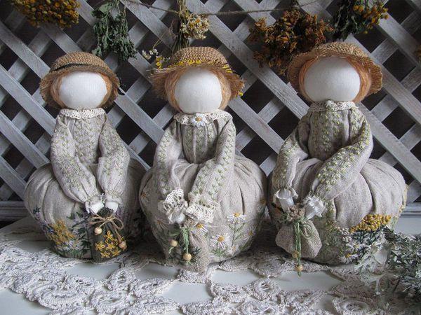 Арома-куколки - отличный подарок ручной работы   Ярмарка Мастеров - ручная работа, handmade
