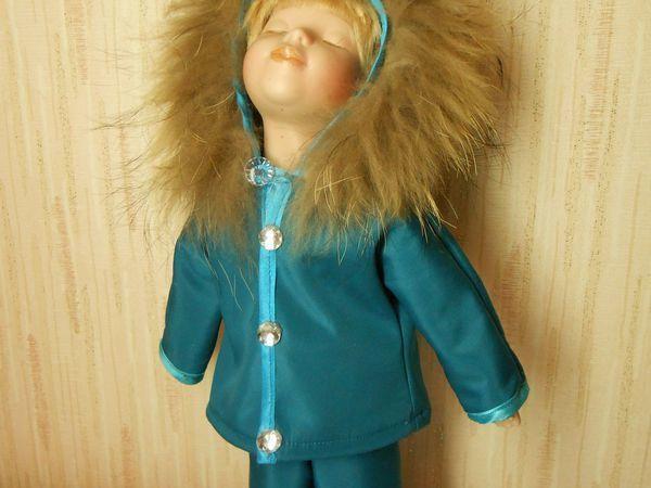 Как быстро сшить курточку для куклы | Ярмарка Мастеров - ручная работа, handmade