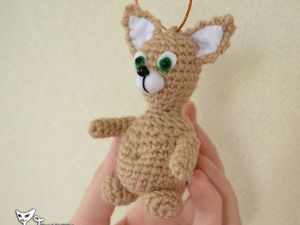 Вяжем крючком котика-подвеску своими руками | Ярмарка Мастеров - ручная работа, handmade
