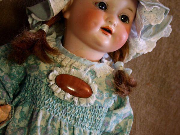 Антикварная кукла Арманд Марсель Красавица из Дербишира | Ярмарка Мастеров - ручная работа, handmade