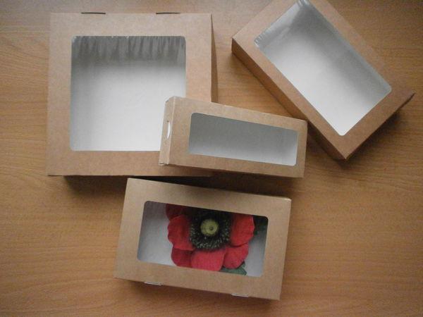 Крафт-коробочки для упаковки изделий ручной работы. | Ярмарка Мастеров - ручная работа, handmade