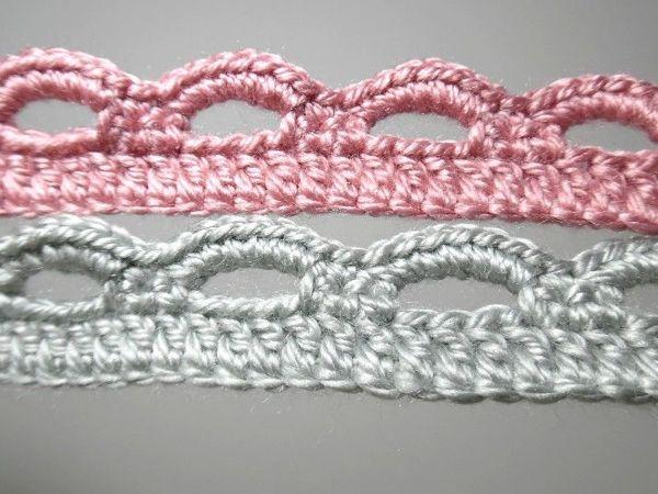 Как обвязать дугами край вязаного крючком изделия   Ярмарка Мастеров - ручная работа, handmade