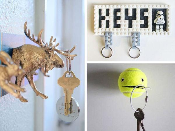 Прихожая начинается с... ключницы! Более 70 самых невероятных идей для воплощения | Ярмарка Мастеров - ручная работа, handmade