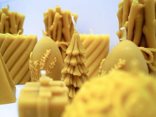 Производство свечей на нашей пасеке | Ярмарка Мастеров - ручная работа, handmade